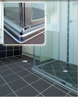 Bathroom tiles buy - Simplifying Shower Construction Waterstop Streamline